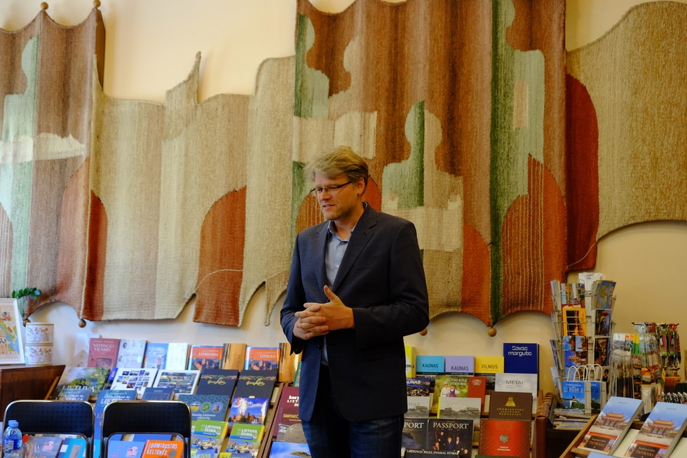 Taivano knygos pristatymas