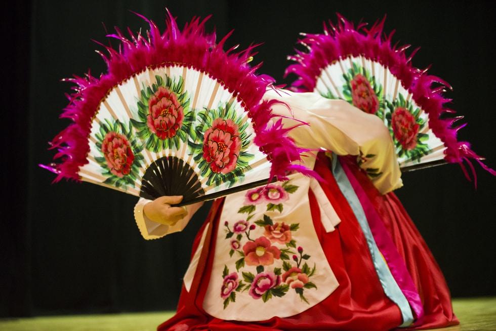 Korėjietiškų šokių koncertas