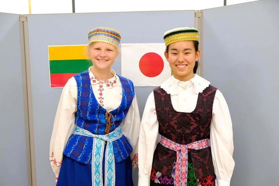 Lithuanian national costume workshop