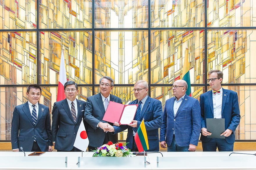 We contributed to starting the export of Lithuanian honey to Japan