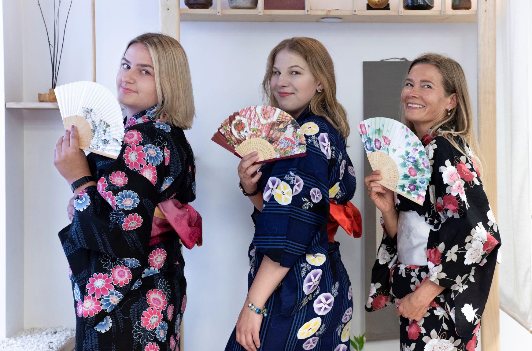 Kimono dirbtuvės ir fotosesija